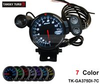 """Wholesale Stepper Motor Gauges - Tansky - Universal Meter   Gauge Defi 3.75"""" 7 colors settings STEPPER MOTOR TACHOMETER   CAR METER   AUTO GAUGE TK-GA375DI-7CC"""