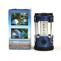 Wholesale summer new Camping tent camping lamp lamp lantern lantern lamp lights LED Portable Camping Lantern in Multi Colors