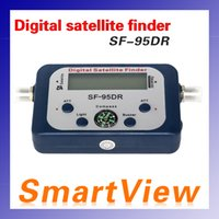 Wholesale Signal Finder For Satellite Dish - SF-95DR Satellite Signal Finder Sat finder Tool Find Meter LCD DIRECTV Dish FTA Digital Displaying For TV Singnal Finder Meter 95DR