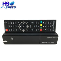 Wholesale Dvb Record - 5pcs Original Zgemma H.2S 2*dvb-s2 satellite receiver support SD TF card PVR record 5pcs with DHL free shipping