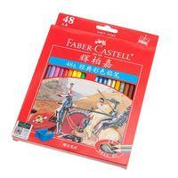 ingrosso artisti forniture-2015 Pittura Faber Castell 48 Classic Color Matita Colorata Disegno Per Artista Set spedizione gratuita