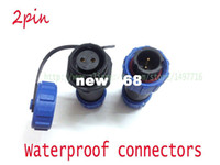 Wholesale Socket 13a - SP1310 P2 waterproof Aviation Connector 2pins,Rated current 13A, Rated voltage250V.Power cord connector plug socket 2pin
