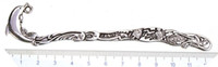 Wholesale Antique Dolphins - metal bookmark charms diy wedding large animal dolphin antique silver fashion jewelry findings office suppliers desk accessories 124mm 30pcs