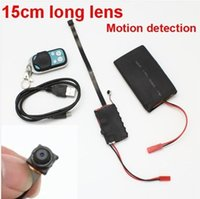 Wholesale Motion Max - 1920x1080P Mini Hidden DV DVR Big battery spy Camera Work time 8 hours Motion detection auto recorder remote control support max up 32GB
