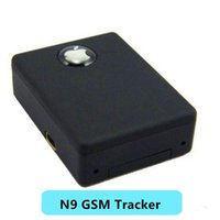 Wholesale N9 Dhl - Global Car GSM Tracker N9 Mini Spy GSM Mini Cam camcorder real time listenting device voice activated auto dialer N9 mini spy DHL Free Ship