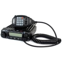 Wholesale Car Mobile Uhf Radio - Car Radio Walkie Talkie KST K-9000 UHF 400-490MHz 45W 200CH DTMF Monitor Scan LCD Squelch Function Mobile Two Way Radio A7031A