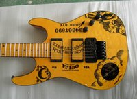Wholesale Electric Guitars Ouija - Yellow Guitar KH-2 OUIJA Signature electric guitar China guitar