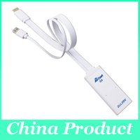 Wholesale Wifi Dongle For Ipad - GULEEK 2015 New Product! Aircast Miracast HDMI TV Dongle Wifi Display Receiver For iphone ipad-White 010063