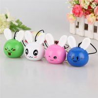Wholesale Smile Speakers - Cute Design Surround Sound Speaker Animal Smiling Face Stereo Speaker Christmas Gifts Outdoor Speakers for Mobile Phone SY009B