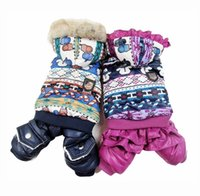 """Wholesale Girls Coat Size Years - Boy Girl Dog Cat Warm """"Lover""""Coat Jacket Pet Puppy Hoody Clothes Apperal snowman design 4 sizes"""