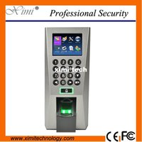 Wholesale Card Door Reader - F18 fingerprint access control with TCP IP USB door access control system linus system optional RFID card and MF card fingerprint reader