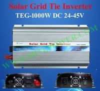 Wholesale Grid Tied Systems - dc 24-45v to ac 90-130v 1000w solar grid tie inverter for solar system use
