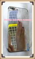 edición de oro del iphone 24ct al por mayor-Platinum 24ct 24kt Gold Dubai Plating Tapa de la tapa Cubierta de la batería para iPhone 7 7+ Edición limitada de lujo 24Kt de oro para iphone7