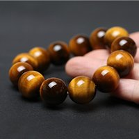 Wholesale titanium bracelet infinity - A Grade Natural Tiger Eye Infinity Bracelets Fashion Charms and Beads Jewelry For Women Men Christmas Birthday Gift Free Shipping