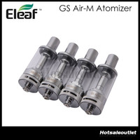 Riesige Stockl !! Eleaf GS Air-M Dual Coil Atomizer 4 ml GS Air Mega Pyrex Clearomizer 1,5 Ohm mit Airflow Control 100% Vorlage