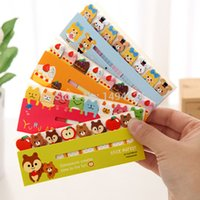 Divertente autoadesivi animali Sticky Memo Note portatile Post-It Notes Bookmark Marker Home / Office colore casuale JIA120