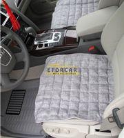 Wholesale universal linens - Set Of 2Pcs Universal Breathable Linen Car Seat Cushion Auto Cover Pad MatDecoration Office Chair Cushion Summer Winter