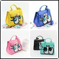 Wholesale Girls Pink Purse For Kids - 2016 Purse For Kid Children's Small Handbag Kids Tote Bag Designer Girl Leather handbag Girl's Bags Women's mini Bag 8 Colors KW-BA118
