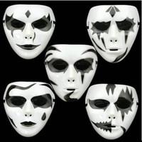 encomendar máscaras faciais venda por atacado-Hot Men JabbaWockeeZ Partido Rosto Cheio PVC Máscaras Homens Máscaras de Halloween Bar Club Show Show Masquerade Máscaras Ordem Mix