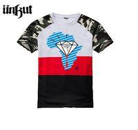 Wholesale Tee Shirt Unkut - New 2015 Unkut T shirts summer fashion diamond supply co men o-neck short tee shirt for men's Hip hop T-shirts
