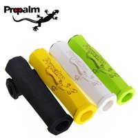 Wholesale Propalm Grips - PROPALM High Density Songe Soft Cycling Bicycle Handlebar Ultra Double-opening Grips Bike Parts MTB Folding Fixed Gear 1 Pair A5