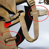 Wholesale Travel Fan - EDC Gear 5 Pcs lot Outdoors wholesale factory direct connection molle webbing buckle clip military fans backpack accessories