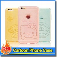 Wholesale Despicable Cell - Colorful Cartoon Skin Cell Phone Case Cover Despicable Me Minions TPU Case For iPhone 6 s