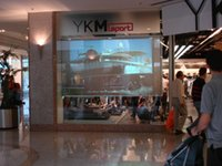 Wholesale Holographic Film For Projection - Wholesale-,,3d Holographic transparent rear projection film display vivid and clear picture for shopping windows