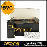 Wholesale E Cig Coil Tank - 100% original Aspire Nautilus Coil BVC E Cig Replacement Bottom Coil for Nautilus Mini Tank VS Cleito 120 RTA Coil