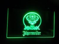 Wholesale Deer Signs - b-10 Jagermeister deer Beer Bar LED Neon Light Sign