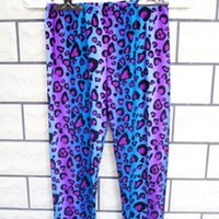 Wholesale Cheap Printed Leggings - Wholesale-Cheap price 2015 summer new pants for women K145 eon color sexy leopard print stretchy thin leggings wholesale and retail