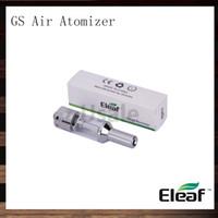 eleaf gs air double atomiseur achat en gros de-Ismoka Eleaf GS Atomiseur à air 1,5 ml Clearomizer réglable pour flux d'air à double enroulement GS-Air Fit pour Eleaf iStick 20W Mini iStick 10W Mods