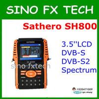 Wholesale Dvb Analyzer - original Sathero SH-800HD DVB-S2 Digital Satellite Finder Meter HDMI Output with Spectrum Analyzer Sathero SH 800HD