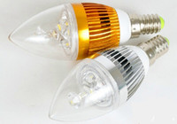Wholesale E27 Candle 12w Dimmable - Free shipping Dimmable E14 E27 B22 9W 12W 15W LED Candle Light LED bulb lamp LED spot Light