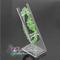 Wholesale Wholsale Sale - Wholsale hot sale L-type Clear Acrylic Watch Display Rack Jewelry Bracelet Watch Stand Holder Rack 100pieces free shipping