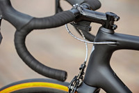 Wholesale Carbon Road Bike 58cm - Free shipping High performance sl6 carbon road frame BB30 BB68 carbon road bike frameset t1100 frame fork headset clamp setpost