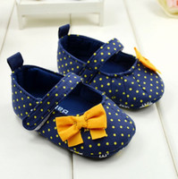 Wholesale Hot Pink Mary Jane Shoes - Wholesale-First walker HOT SALE Girls Toddler Soft Sole Hot Pink Mary Jane Baby Shoes Free Shipping