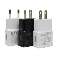 Wholesale S3 Home Charger - USB Wall Charger 5V 2A Home Travel adapter EU US Plug Charger AC Power Adapter for Samsung Galaxy S3 S4 S5 OM-CC6