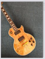 2017 Custom Shop Wooden Electric Guitar Gold Hardware OEM Instrumentos musicales