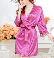 Wholesale White Babydoll Stockings - Hot Sexy Lingerie Women Dress Purple Babydoll Sleepwear 2016 Women Sex Product Erotic Lingerie In Stock