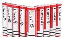 Wholesale Led Flashlight Free Battery - 2pcs lot 18650 rechargeable batteries 3.7v 5000 mAh Lithium li-ion battery for led Flashlight batery Free shipping