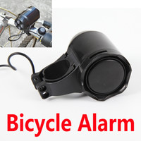 Wholesale Security Alarm Horns - Motorbike Horn Vibration Alarm Security Bicycle Electronic Bell Moped Bike guard against theft Waterproof One Key Control Password Controled
