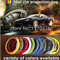 Wholesale Low Price Rims - ProDubs 4pcs=1 set Car rim protection ring tires protection line car accessories part decoration lowest price