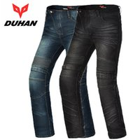 Wholesale Cross Country Jackets - 2017 New DUHAN DK-018 Moto pants Off road Motorcycle Jeans cross-country Motorcycle riding pant drop resistance External protective gear