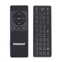 Wholesale Tronsmart Air Mouse Remote - Wholesale-Tronsmart TSM-01 Russian Version mini Keyboard Air Mouse 2.4GHz Wireless Remote Control for TV Box   PC   Motion Sensing Games