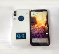 Wholesale Sd Card Videos Tv - Smart phone Unlocked Goophone X iX i8 plus 5.5inch Quad Core MTK6580 1GB RAM 4GB ROM with 8GB SD Card GPS WIFI GSM WCDMA 3G Cellphone