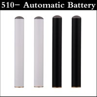 Wholesale Easy Button Wholesale - 510- Automatic Battery 180mAh no power button EGO Mini 510 Atomizer Electronic Cigarette without button easy smoking vs ego battery