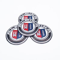 Wholesale Alpina Wheels - 4pcs ALPINA Logo 56.5mm Wheel Center Hub Caps Emblem Sticker for BMW ALPINA Car Styling Emblem Badge Decal Sticker Accessories