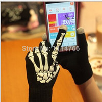 Wholesale cool gloves for men - Wholesale-1 pair Hot Selling Fashion Winter Comfortable Fashion Cool Touch Screen Mittens Gloves for Women and Men Free Shipping C9ik