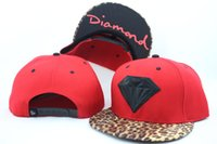 Novo estilo Moda Diamond SUPPLY CO Snapback Baseball Hip-Hop CAP / HATS